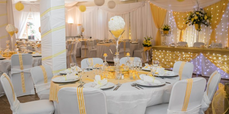 Profcon Resort - White and Yellow Wedding 1