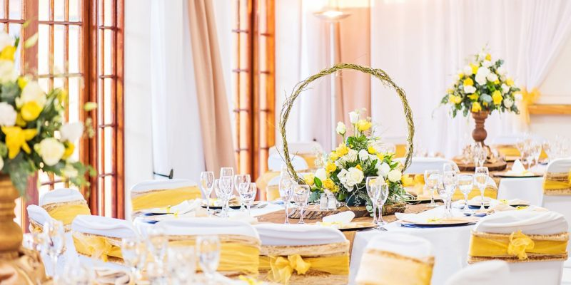 Profcon Resort - Oak, Champagne and Yellow Wedding 2